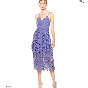 Aster the Label lace dress lavender NWT